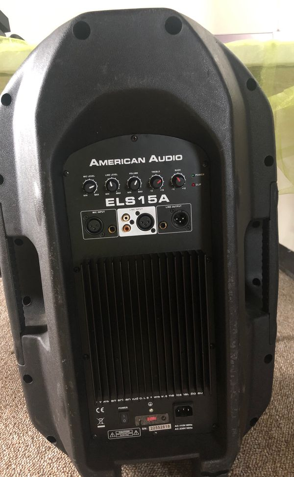 American Audio 15in DJ Speaker