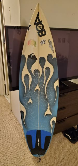BOA SURFBOARD ( Hand shaped in Cali ) for Sale in Hollywood, FL