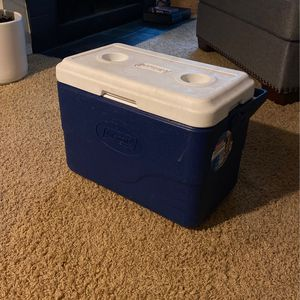 Navy Blue Coleman Cooler for Sale in Vancouver, WA