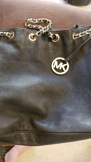Michael Kores Black Leather Purse for Sale in Alexandria, LA