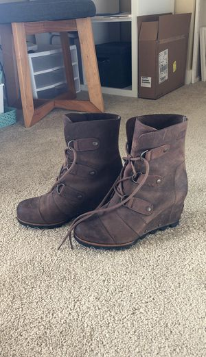 Sorel Leather wedge for Sale in Gig Harbor, WA