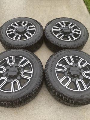 "20"" GMC Sierra 2500 3500 OEM rims wheels tires BRAND NEW! for Sale in Boynton Beach, FL"