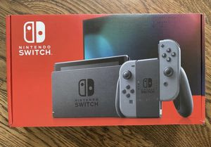 Nintendo Switch - Grey - New In Box for Sale in Dallas, TX