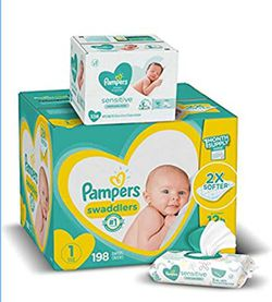 Pampers Swaddlers for Sale in Waynesfield,  OH