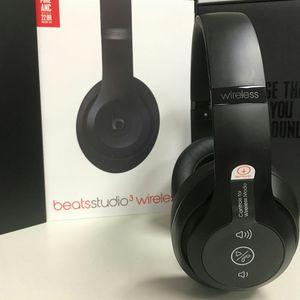 Beats Studio 3 Wireless Matte Black for Sale in Boston, MA