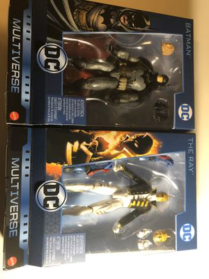 Dc Multiverse Ray and Batman for Sale in Las Vegas, NV