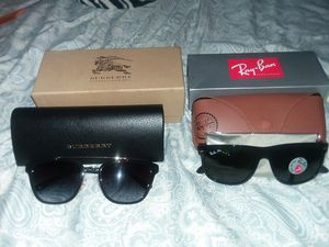 BurBerry sunglasses and Ray Bans Brand new for Sale in Baltimore, MD