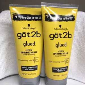 GOT2B GLUED STYLING GEL 2-FOR $8 for Sale in Los Angeles, CA