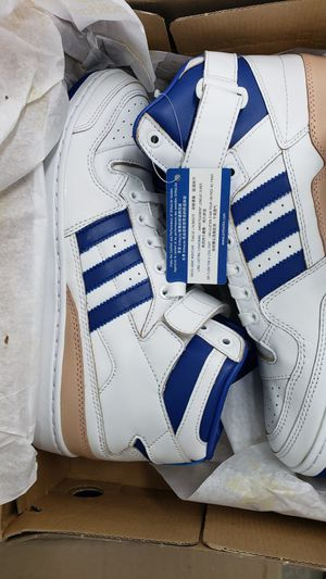 New Adidas Forum Mid Refined White/Blue/ Originals for Sale in Tacoma, WA
