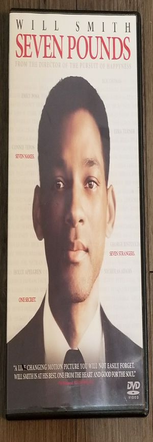 Seven Pounds (DVD, Widescreen, 2009), Used for Sale in Denver, CO