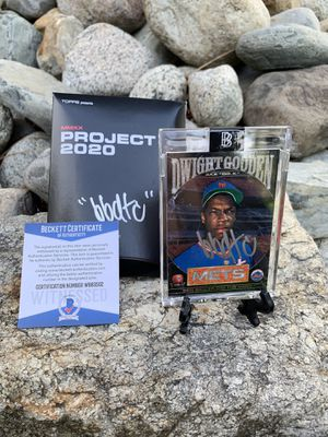 """BBDTC Dwight Gooden """"Dr. K"""" Hand Signed Limited Edition Card for Sale in Spokane, WA"""
