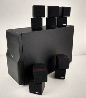 Bose Acoustimass 10 Home Theater Speaker System - Like Brand New for Sale in HOFFMAN EST, IL