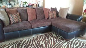 Like new conditions large sectional sofa 5 months old Very comfortable moving can't take it too big and wide for my new place for Sale in Escondido, CA