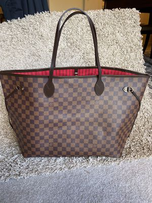 Louis Vuitton LV Damier Ebene MM Tote Bag Purse Handbag for Sale in Alexandria, OH