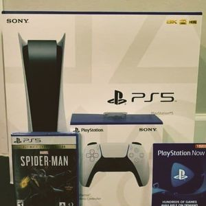 PlayStation 5 Disc Blue-ray Edition for Sale in Overland Park, KS