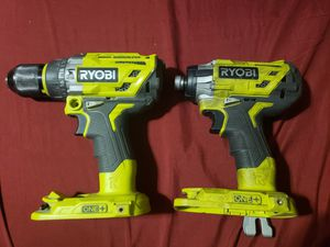 Ryobi brushless impact and hammer drill for Sale in Los Angeles, CA