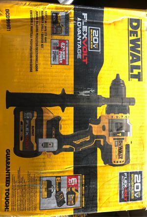 Dewalt 20 v brushless 1/2 in. Hammer Drill driver kit for Sale in Greeley, CO