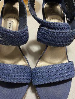Dana Buchman Strap it Wedge Sandals Heels 7 for Sale in Knightdale,  NC