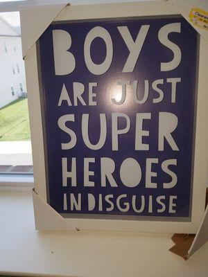 Boys wall hanging for Sale in Manassas, VA