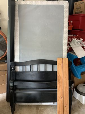 Twin Bed Frame and Box Springs for Sale in Cedar Park, TX