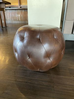 Ormand Tufted Ottoman Chocolate Brown for Sale in San Francisco, CA