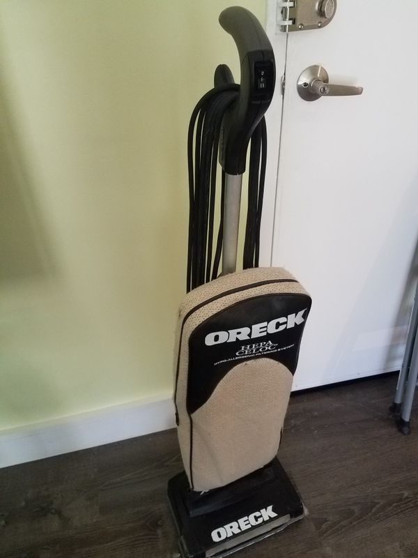 ORECK VACUUM WITH BAGS