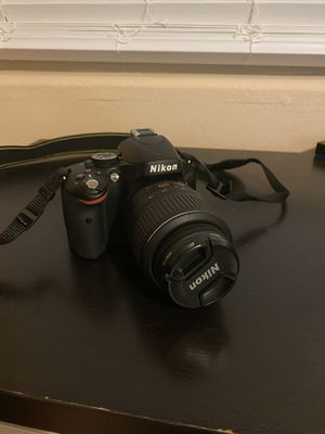 Nikon D5100 DSLR Camera for Sale in Santa Monica, CA
