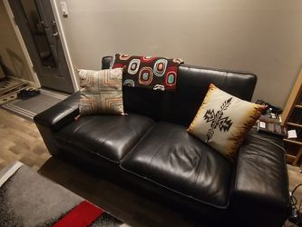 Leather Loveseat Ikea for Sale in Westlake,  OH