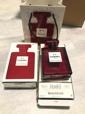 No5 Chanel red perfume for Sale in Anaheim, CA