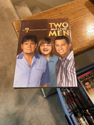 Two And A Half Men The Complete Seventh Season 7 DVD Box Set S7 Seven Charlie Sheen for Sale in Buena Park, CA