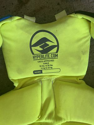 Life vests adult ones sold only 1 small kids left see photos for Sale in Chandler, AZ