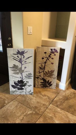 Set of two canvas frames for Sale in Ocoee, FL