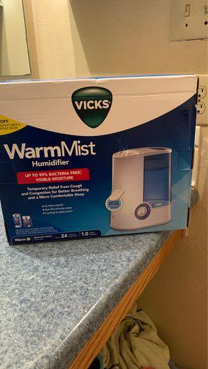 Vicks WarmMist Humidifier for Sale in San Antonio, TX