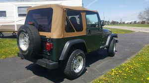 2000 Jeep Wrangler with Many New Upgrades for Sale in Marysville, OH