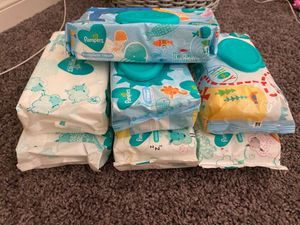 Pampers Wipes for Sale in Bakersfield, CA