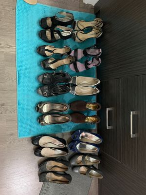 12 pair of shoes = ALL FOR $50 for Sale in Miami, FL