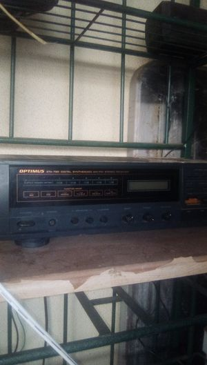 Optimus home stereo receiver for Sale in Bakersfield, CA