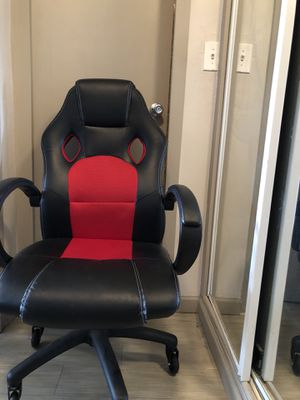 Red and black office/gaming chair for Sale in Denver, CO