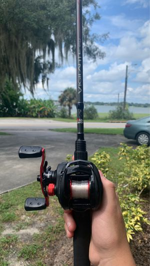 Abu Garcia Blackmax rod and reel combo!!OBO for Sale in Winter Haven, FL