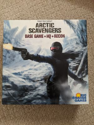 Arctic Scavengers Base Game & Expansions - Board Game for Sale in Falls Church, VA