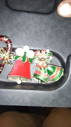 Christmas brooches for Sale in Blue Island, IL