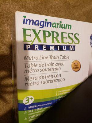 Imaginarium express premium metro line train table for Sale in Chantilly, VA