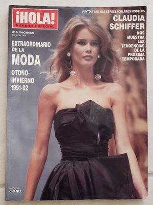 Hola Magazine 1991 - 92 CLAUDIA SCHIFFER for Sale in Pembroke Pines, FL