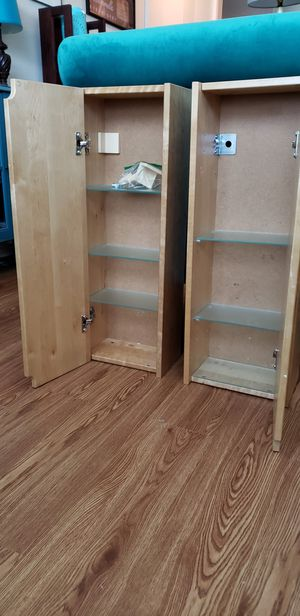 IKEA wall mounted bathroom cabinets-Still Available for Sale in Carrollton, TX