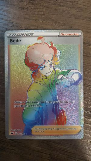 Bede Secret Rare Trainer Pokemon Card for Sale in Odessa, FL