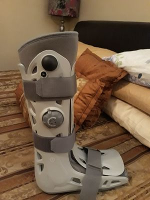 Boot brace and crutches for Sale in Boston, MA