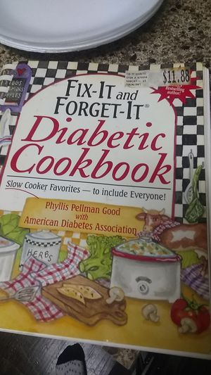 Diabetic cook book. I am selling it because I don't longer need it free form being a diabetic if u cook by this book u can be also. for Sale in Houston, TX