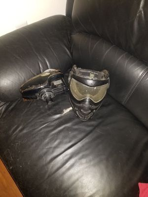 Paintball mask and electric hopper for Sale in Nipomo, CA