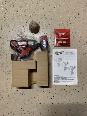 """Milwaukee M12 3/8"""" Impact Wrench w/Battery - Brand New (Never Used - Just Missing Box) for Sale in New Market, MD"""