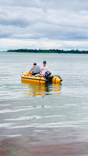 Inflatable boat and motor for Sale in Norwalk, CT